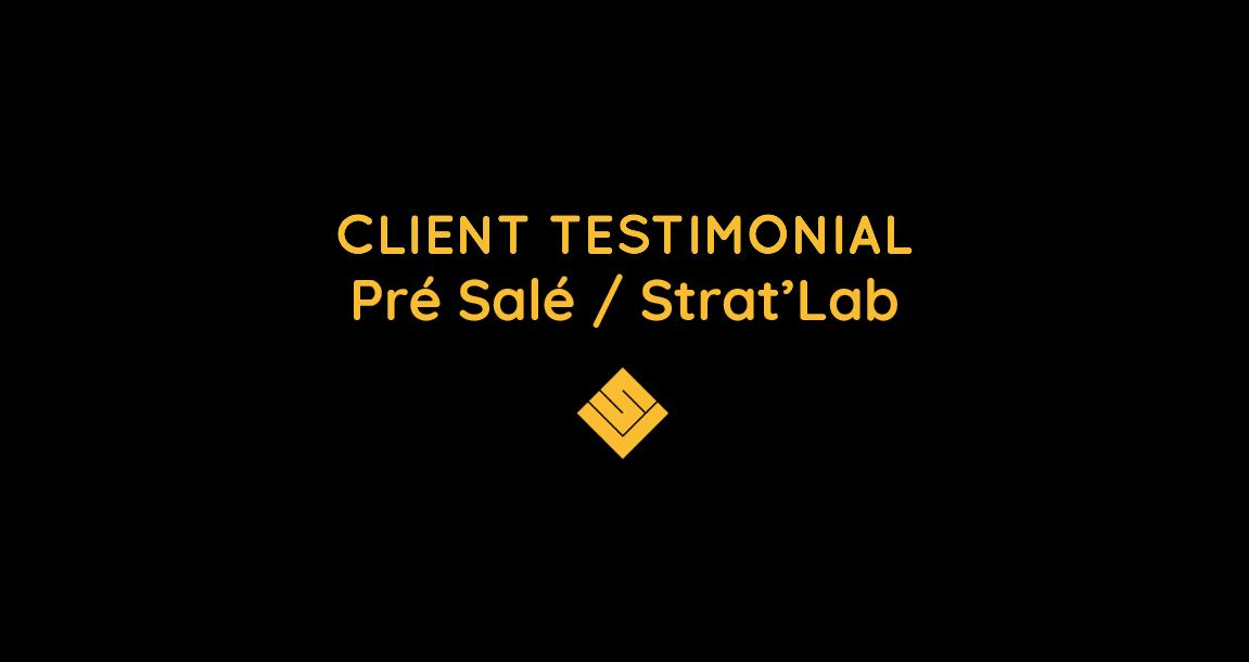 digital solutions - pré salé - client testimonial