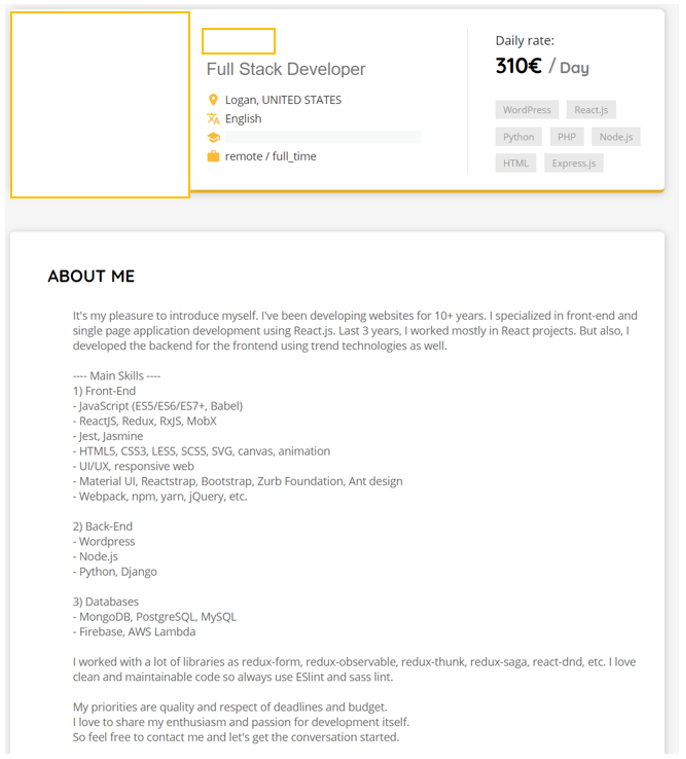 freelancer-profile-skillvalue