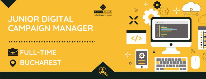 Junior Digital Campaign Designer & Trafficker, Full-time Job in Bucharest
