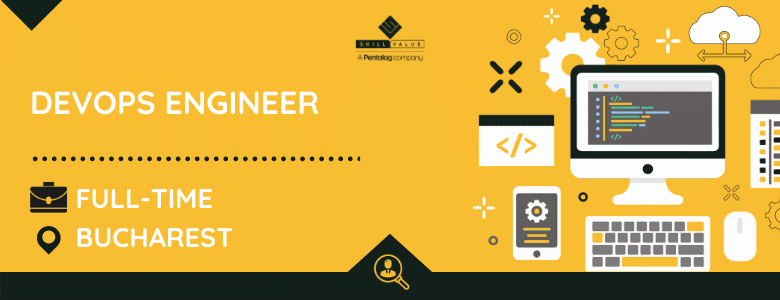 devops engineer - full time job bucharest