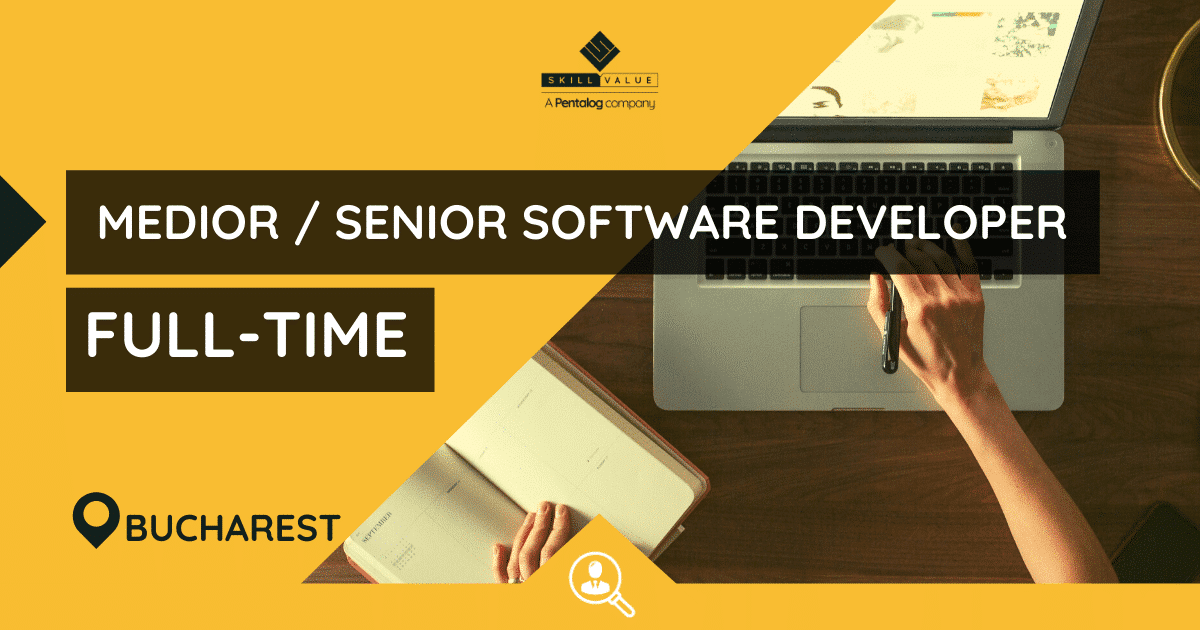 Medior / Senior Software Developer – Full-Time Job, Bucharest