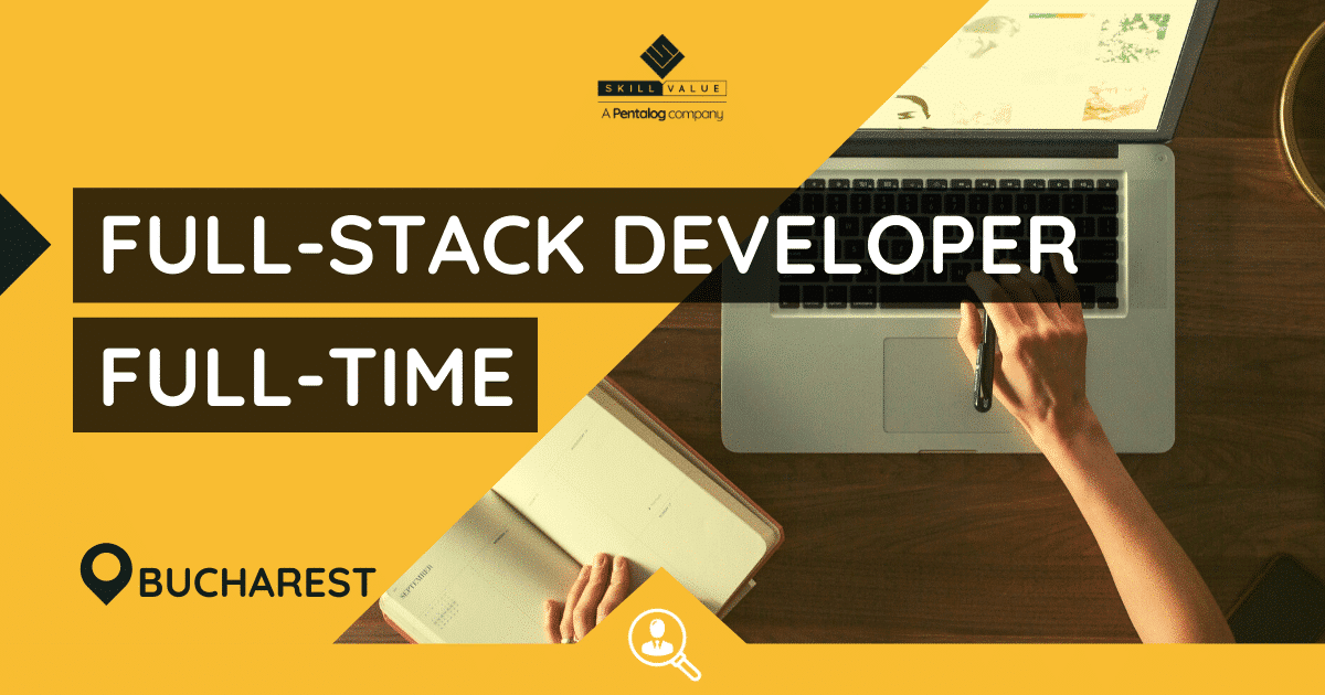 JAVA Full-Stack Developer with Angular – Full-Time, Bucharest