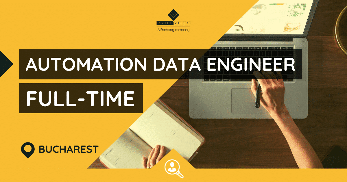 Automation Integration Data Engineer – Full-Time Job, Bucharest
