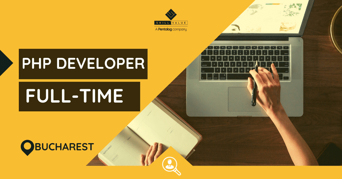 PHP Developer with French – Full-time job – Bucharest