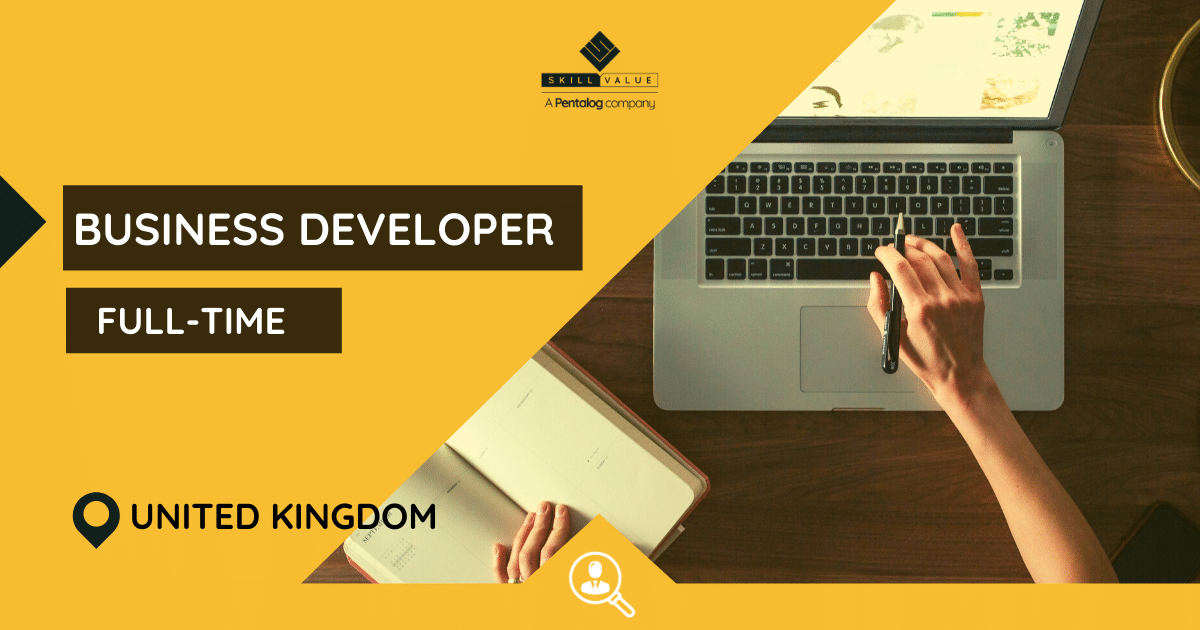 Business Developer – Full-Time Job in UK