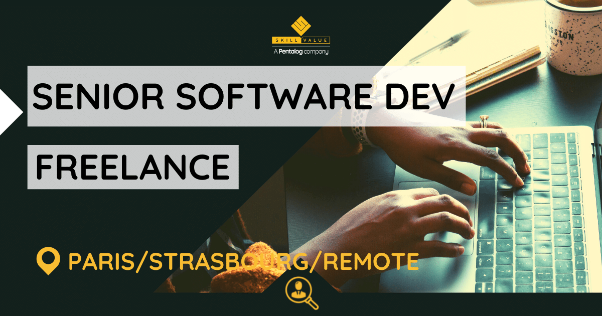 Senior Software Developer (Node.js, React.js) – Freelance – Paris/Strasbourg/Remote