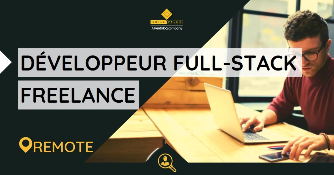 Développeur Full-Stack JS Senior (Angular/Node) – Mission Freelance à Paris (92)