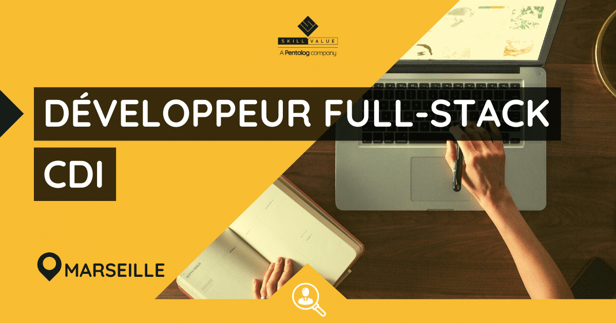 Développeur Full-Stack – Poste CDI, Aix-en-Provence