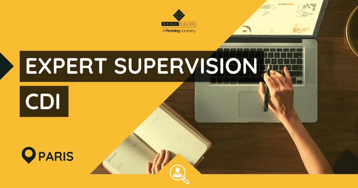 Expert Supervision / Monitoring et Outils H/F – Poste CDI Paris, La Défense