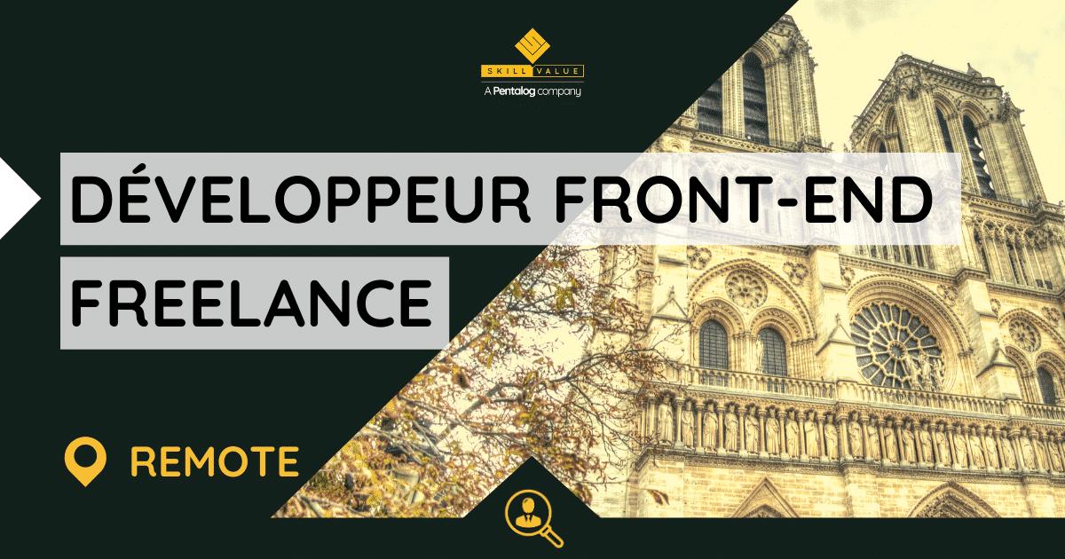Développeur Front-end – Vue JS – Mission Freelance & Remote