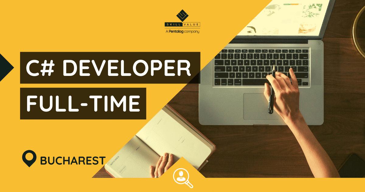 C# Developer – Full-Time Job, Bucharest