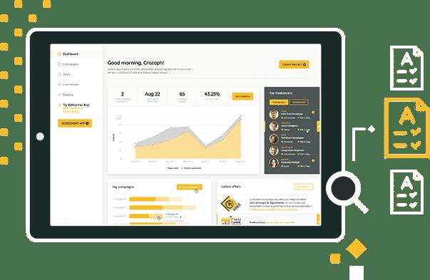 SkillValue Assessment Dashboard