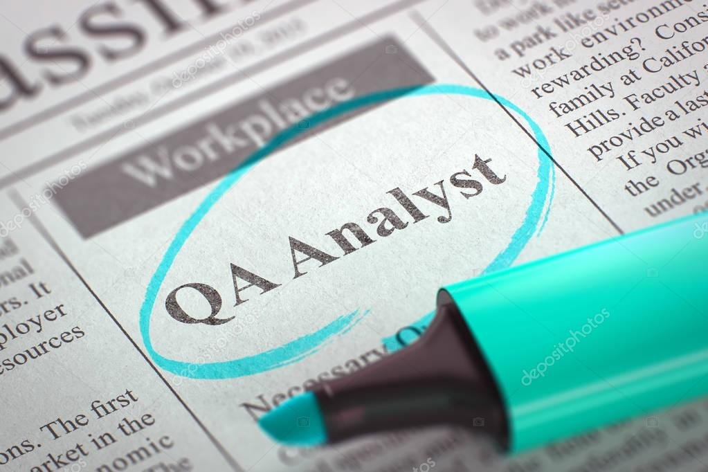 QA Analyst – Full-Time Job in Bucharest