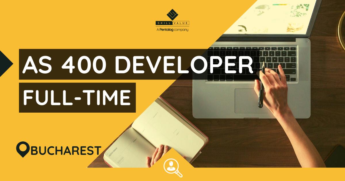 AS400 Developer, Full-Time Job in Bucharest